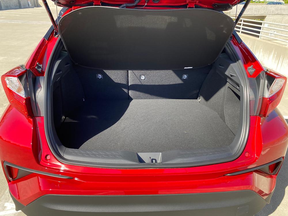2021 Toyota C-HR Nightshade Edition cargo area