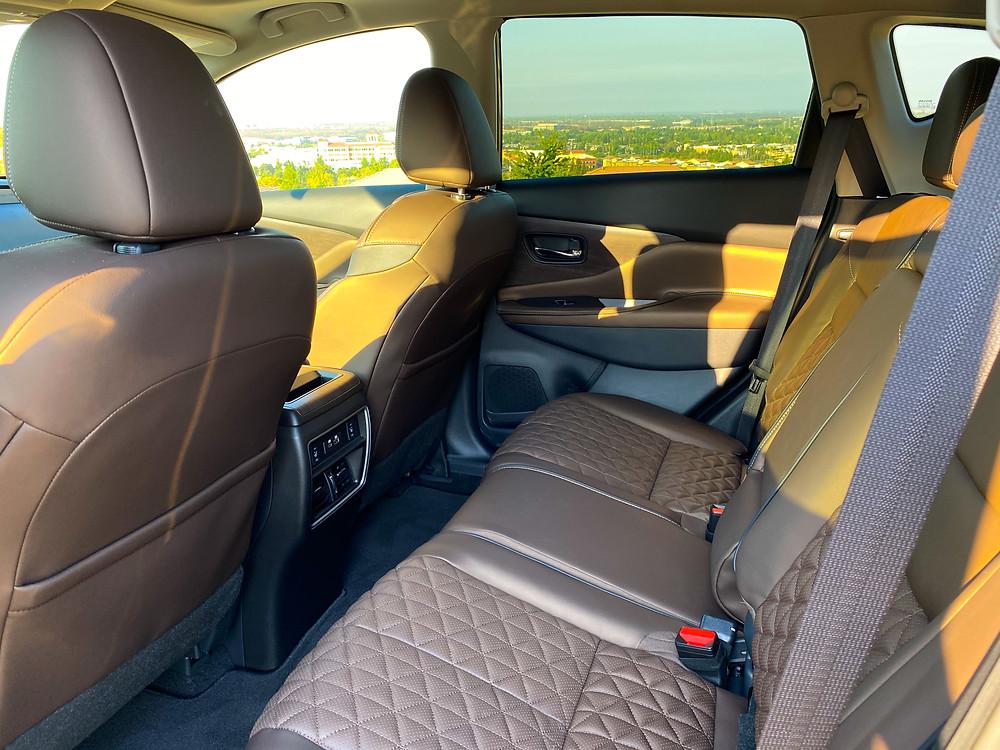 2020 Nissan Murano Platinum FWD rear seat