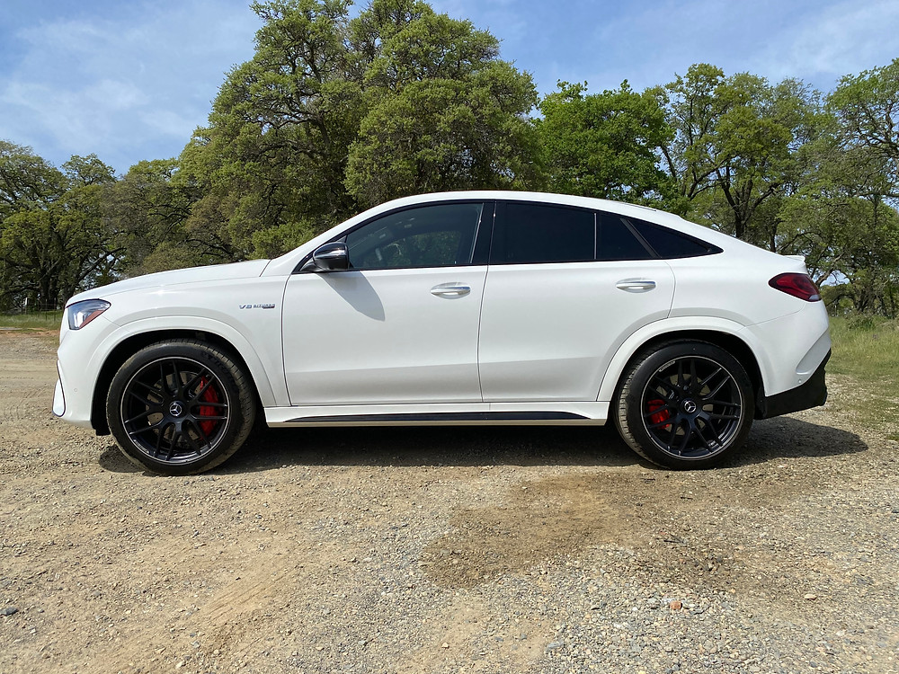 2021 Mercedes-AMG GLE 63 S Coupe side view
