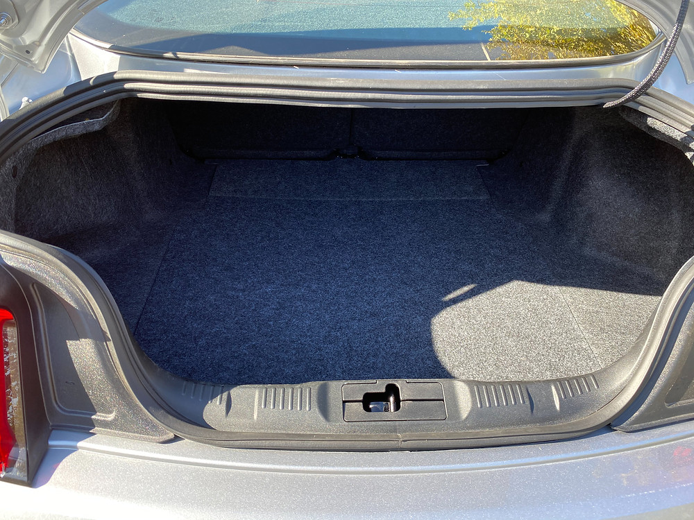 2020 Ford Mustang 2.3L High Performance EcoBoost trunk