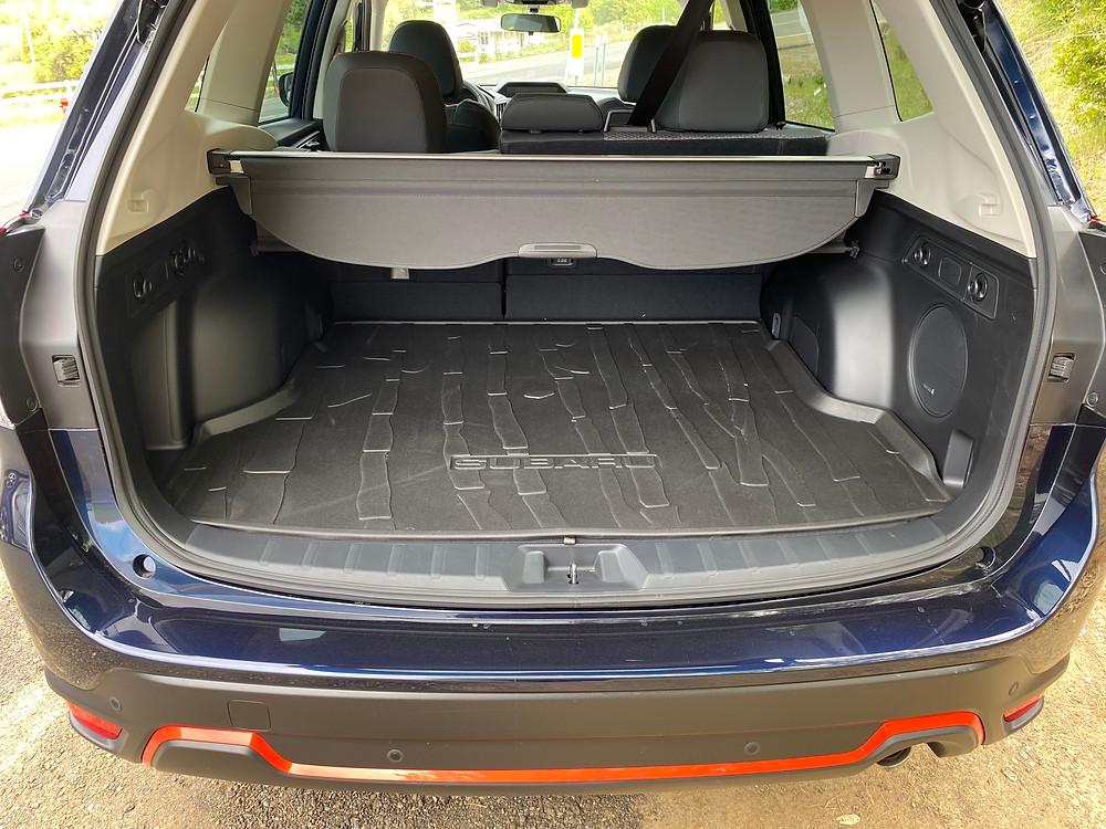 2021 Subaru Forester Sport cargo area