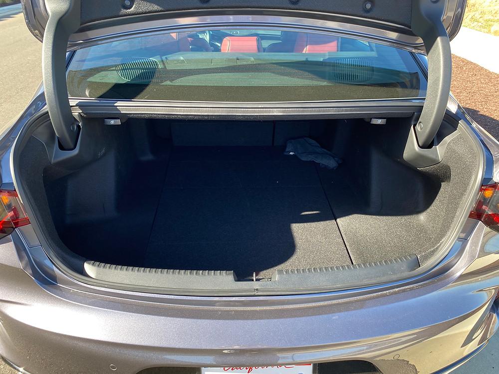 2021 Acura TLX SH-AWD A-Spec trunk