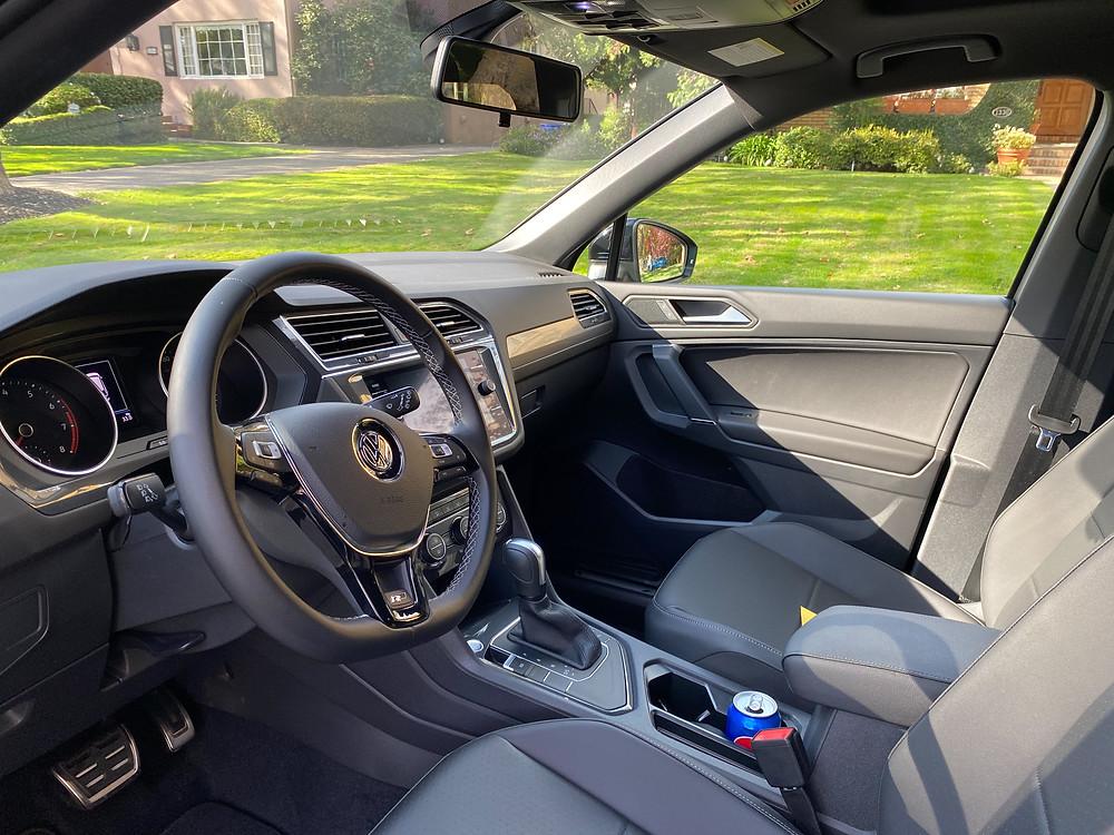 2020 Volkswagen Tiguan 2.0T SE R-Line Black front seats