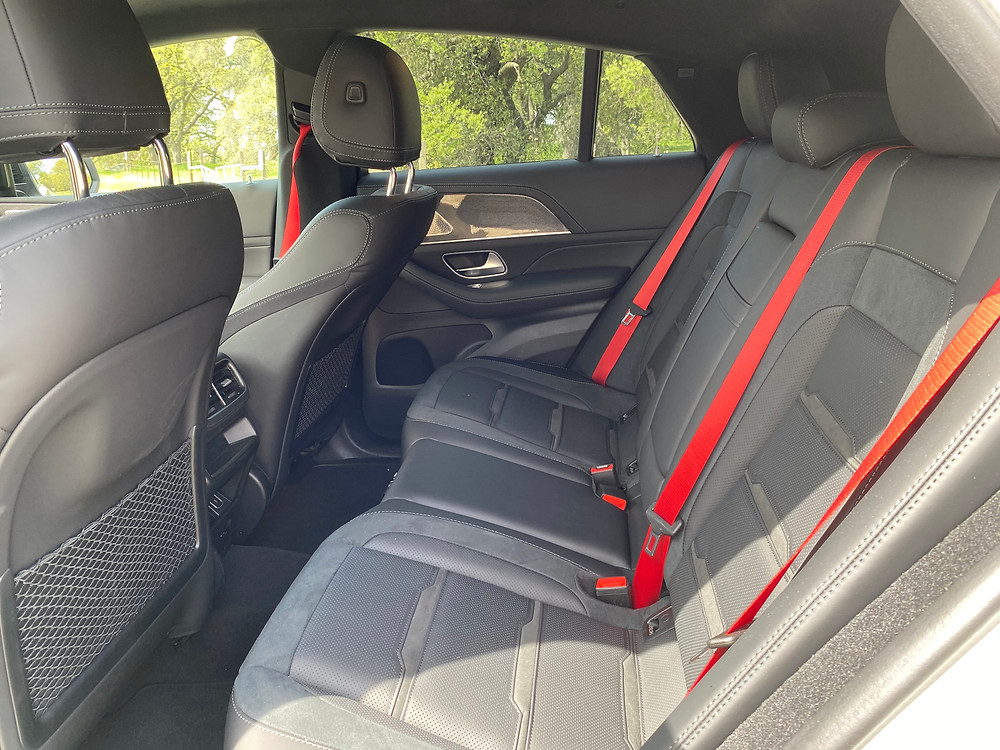 2021 Mercedes-AMG GLE 63 S Coupe rear seat