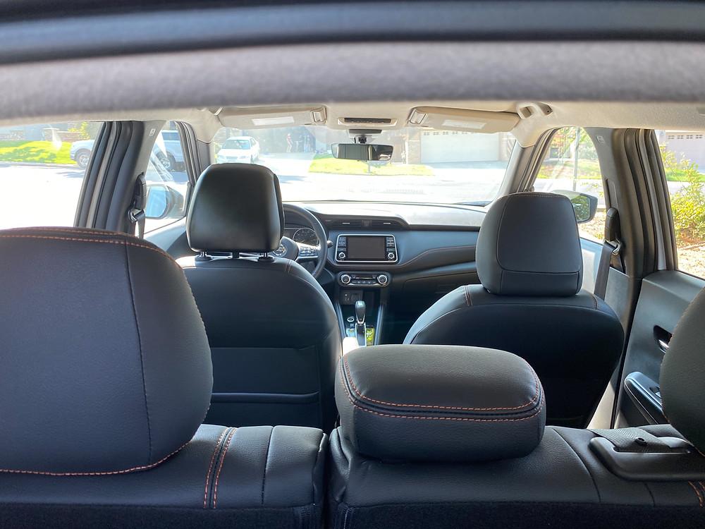 2020 Nissan Kicks SR interior