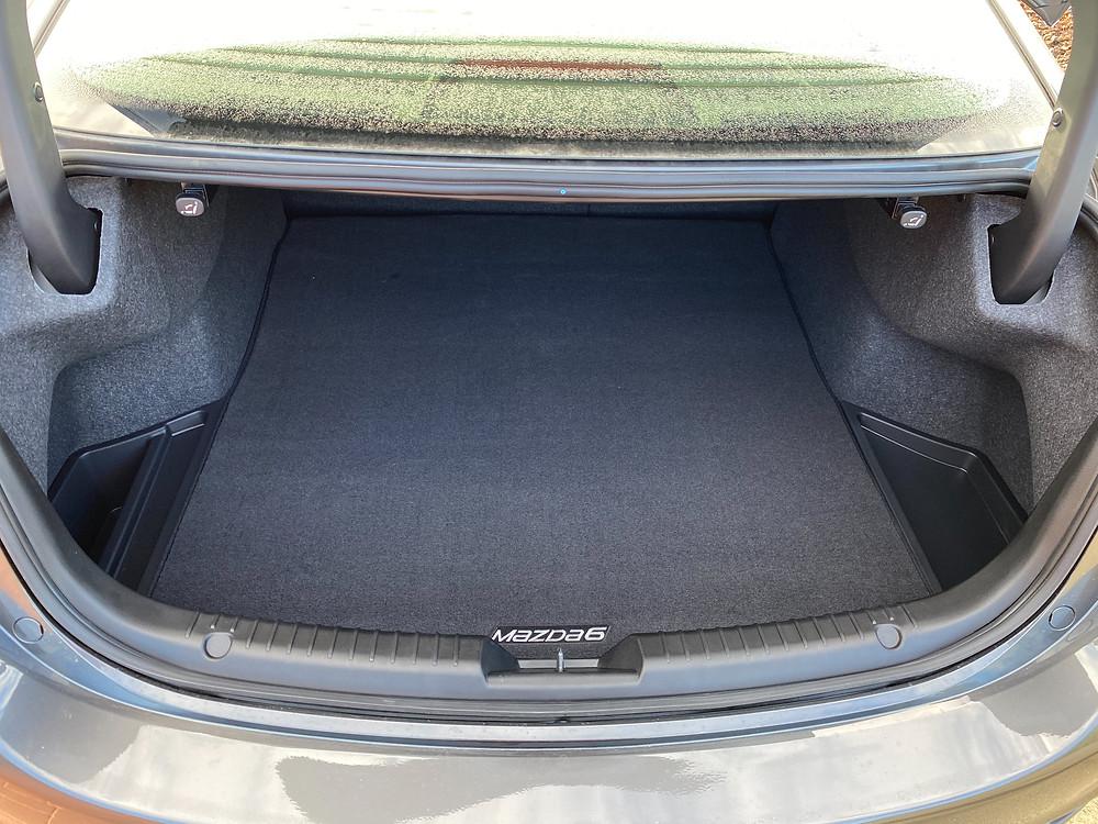 2021 Mazda 6 Signature trunk