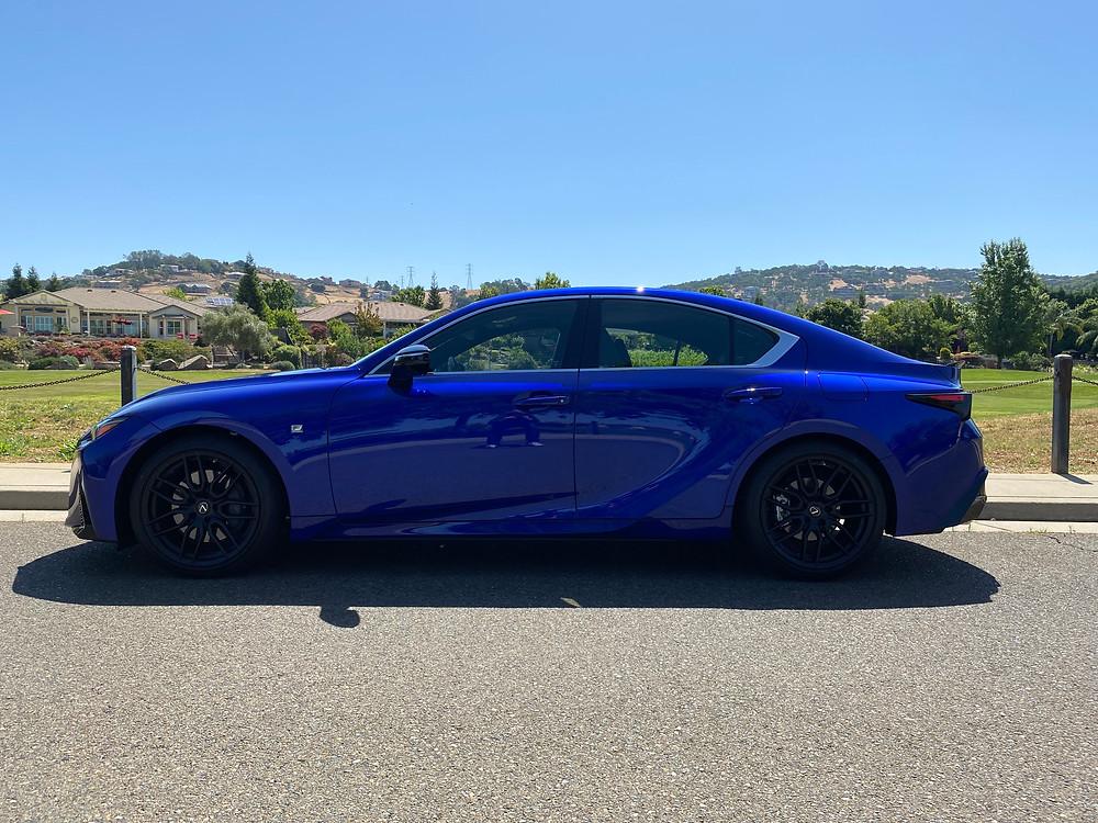 2021 Lexus IS 350 F SPORT side view