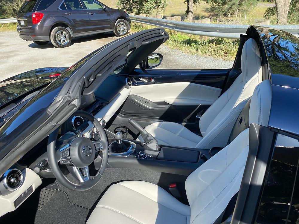 2021 Mazda MX-5 Miata Grand Touring RF Grand Touring interior