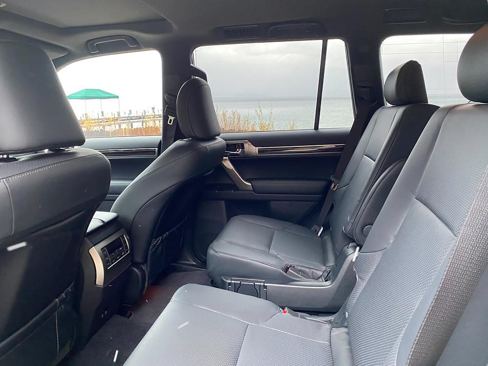 2021 Lexus GX 460 rear seats