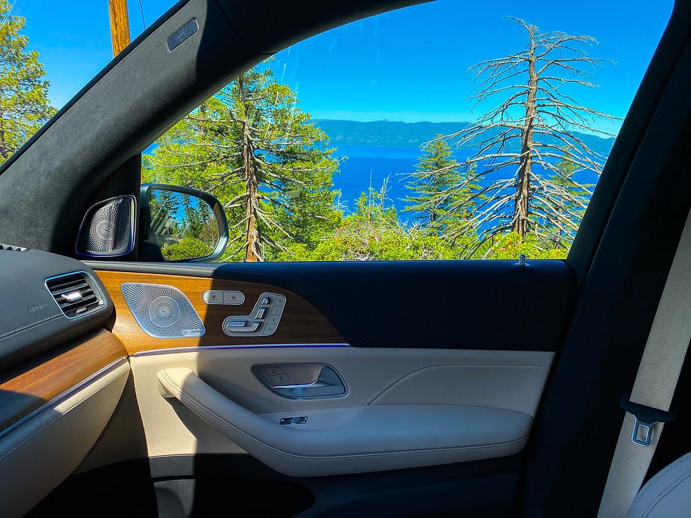 2021 Mercedes-AMG GLS 63 passenger door