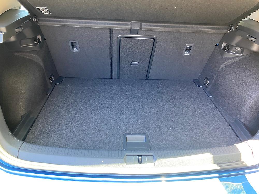 2021 Volkswagen Golf TSI rear cargo area