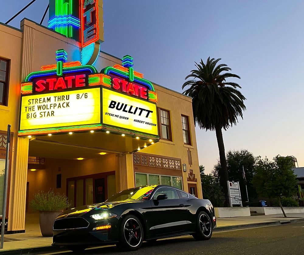 2020 Ford Mustang BULLITT front 3/4 view