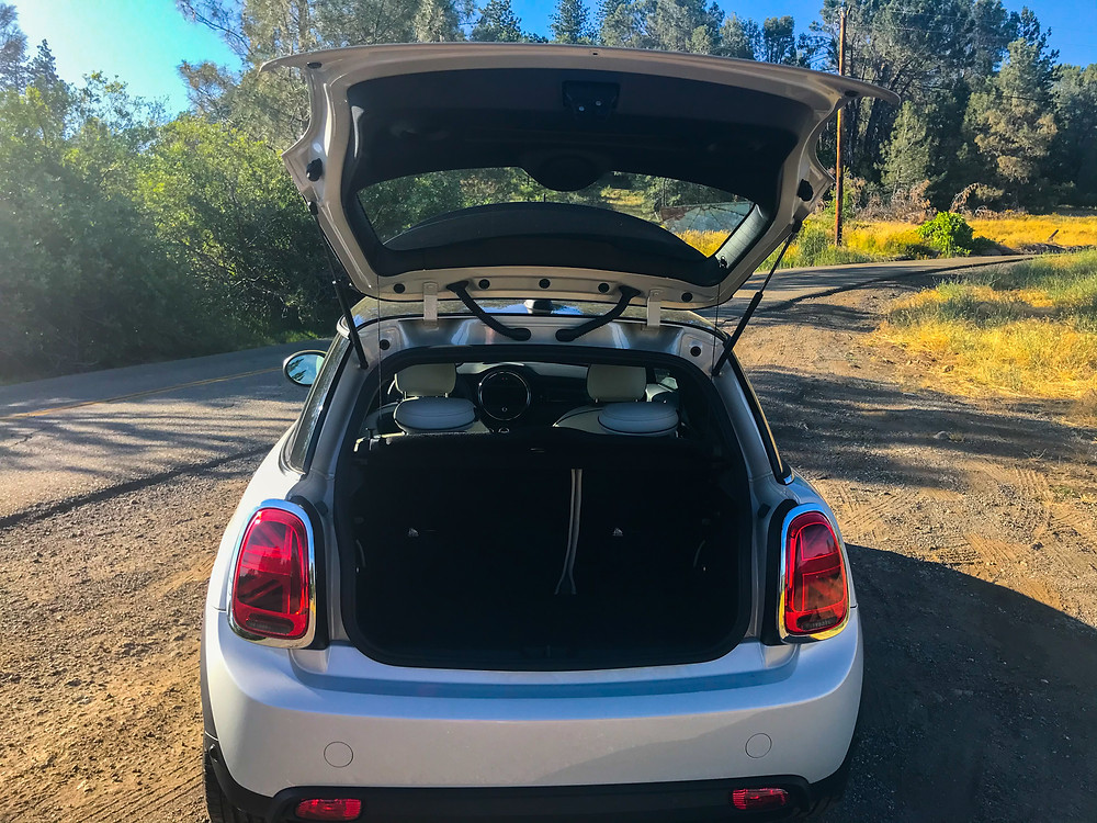 2020 Mini Cooper SE hatch open