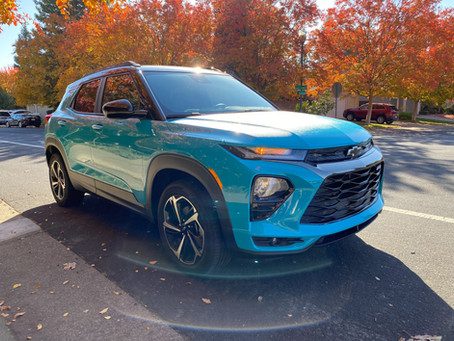 Street Cred: The 2021 Chevrolet Trailblazer AWD RS