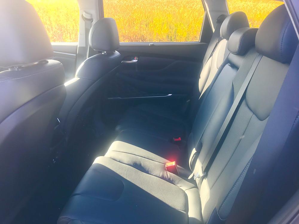 2020 Hyundai Santa Fe Limited 2.0T rear seat