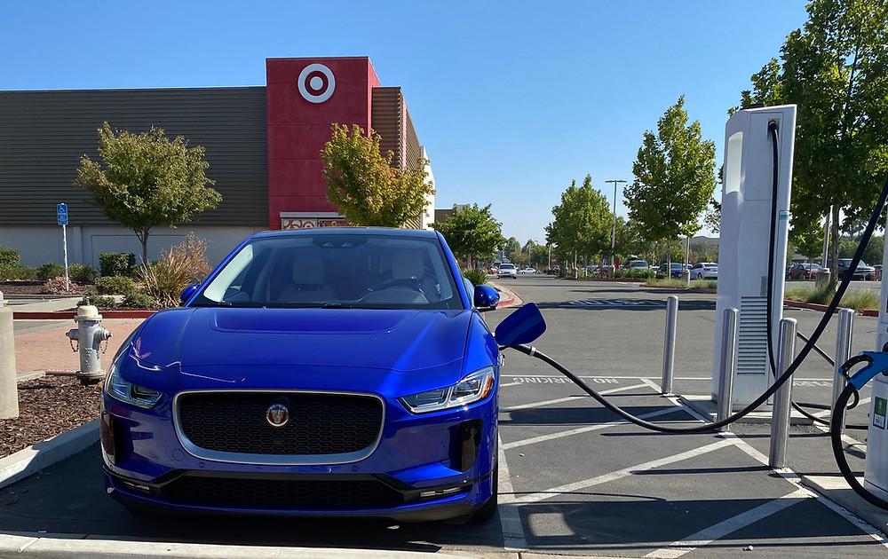 2020 Jaguar I-Pace front view