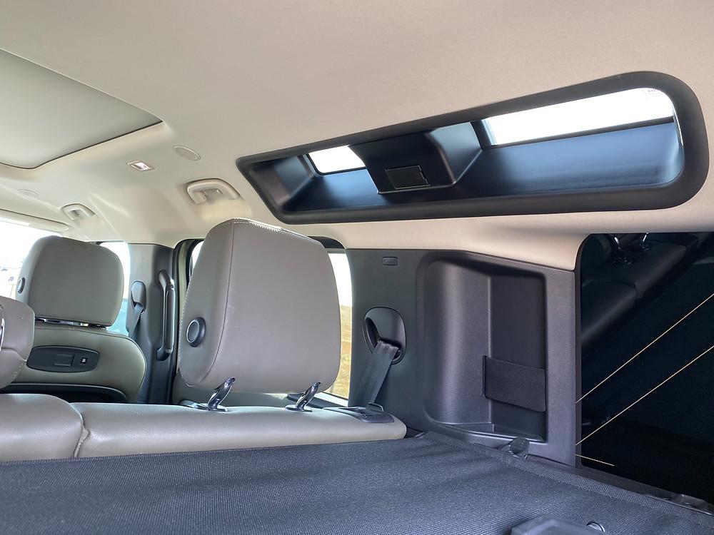 2020 Land Rover Defender 110 SE interior right upper windows