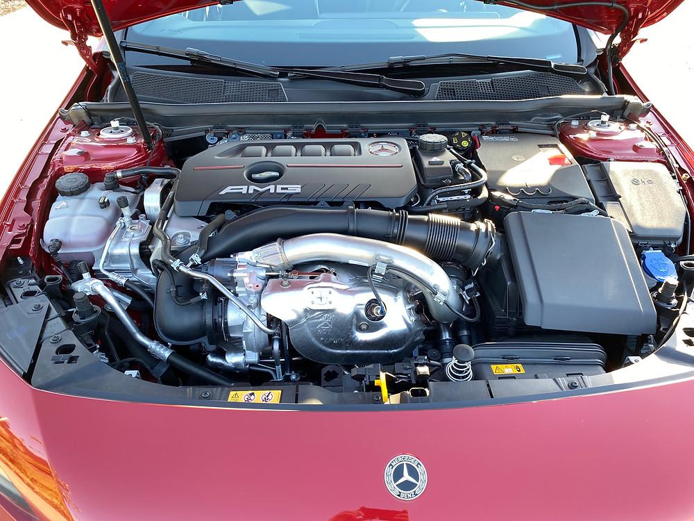2021 Mercedes-AMG A35 4MATIC engine