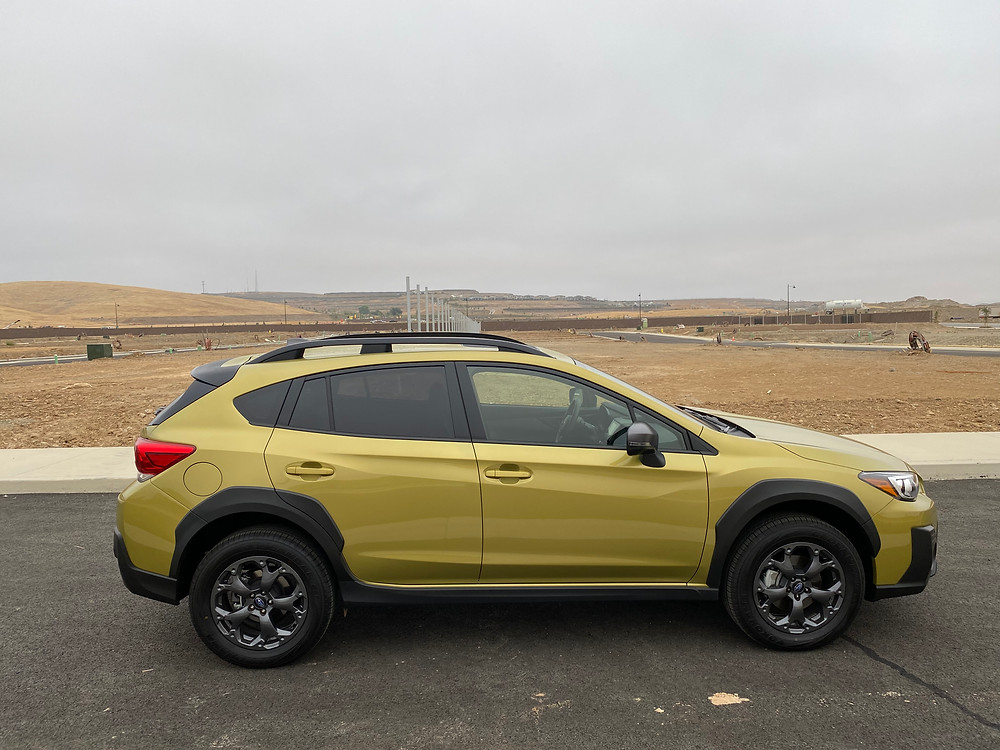 2021 Subaru Crosstrek Sport side view