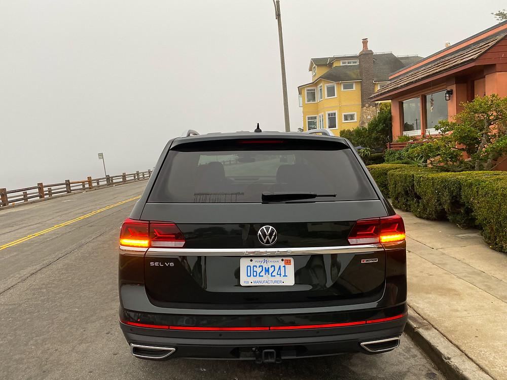 2021 Volkswagen Atlas V6 SEL Premium rear view