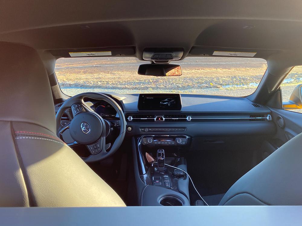 2021 Toyota GR Supra 2.0 interior