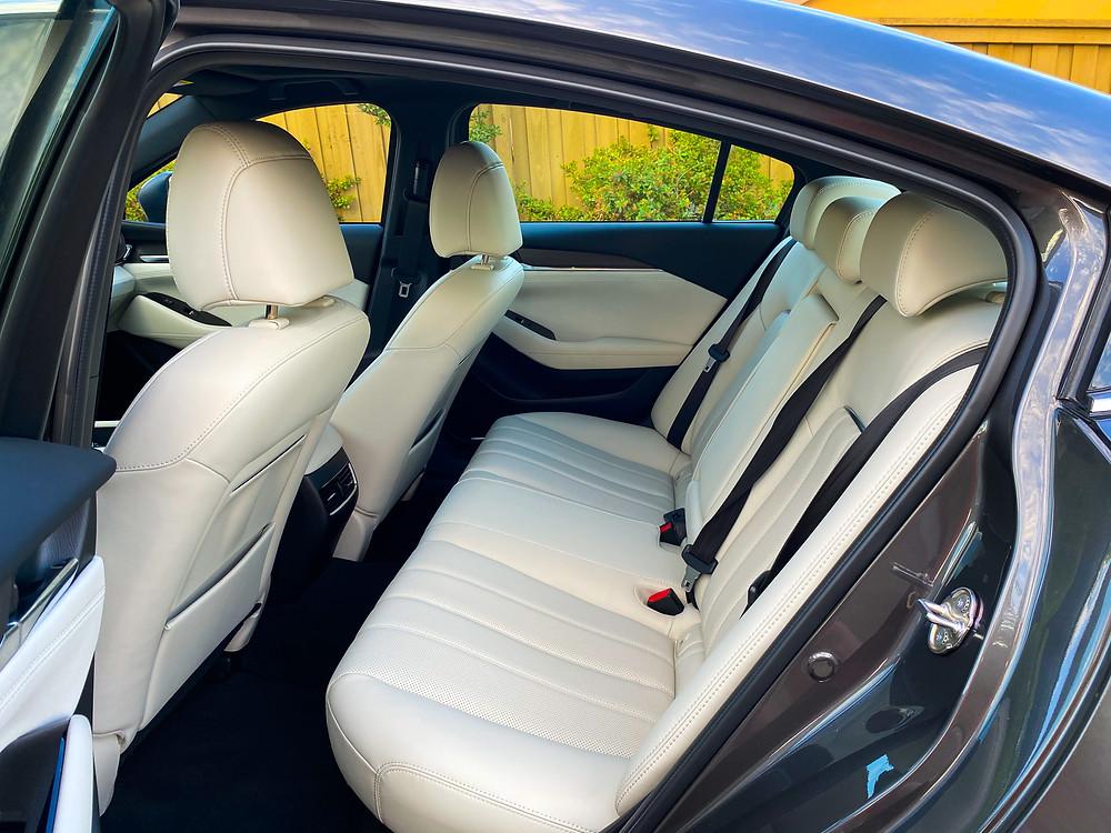 2020 Mazda 6 Signature rear seat