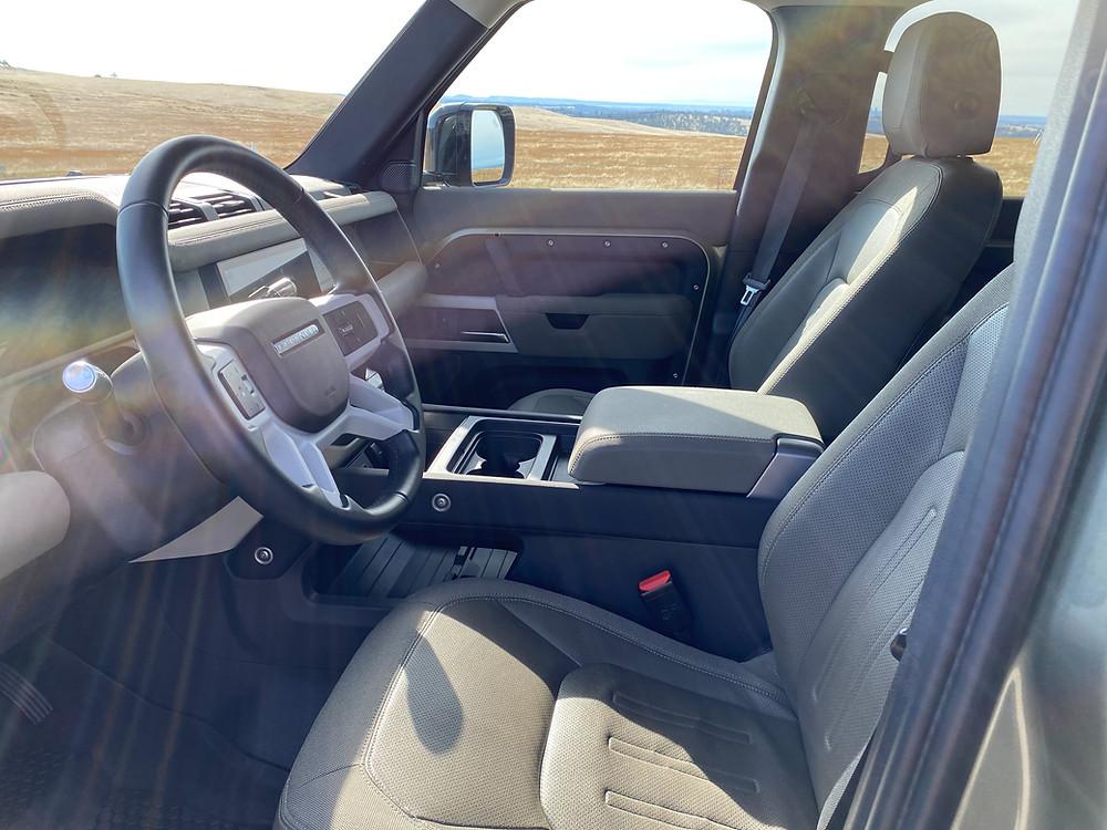 2020 Land Rover Defender 110 SE front seats