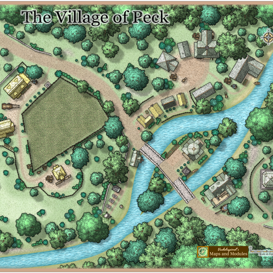 The Village of Peck