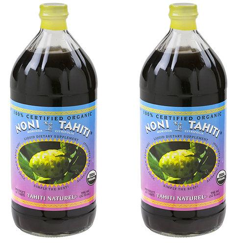 (2 Bottles) 100% Pure Noni Juice - 32 fl oz each
