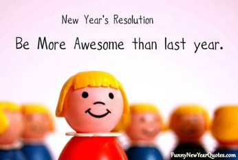 Be more awesome than last year!