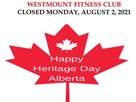 Closed Mon Aug 2 for Heritage Day