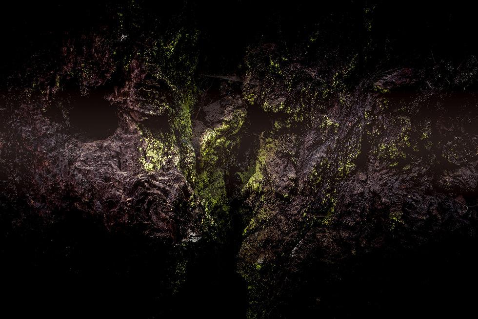tiefe Höhle