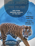 Zoo Poster Graphic Design Sample
