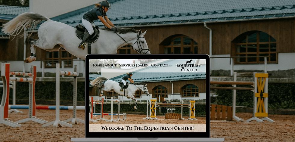Equestrian Web Design