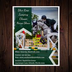 Horse Show Marketing Flyer Sample