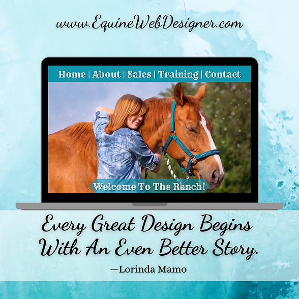 Every Great Design Begins With An Even Better Story. - Lorinda Mamo