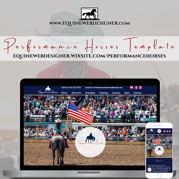 Performance Horses Website Design Template Template.png