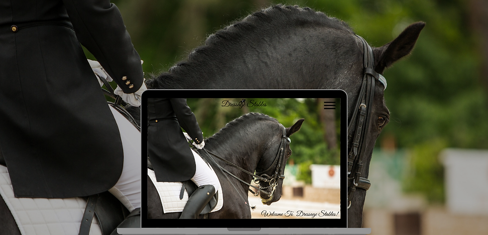 Equestrian Website Design