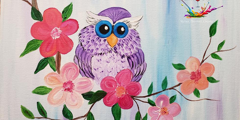 Scarborough 3eightnine cafe - Baby Owl