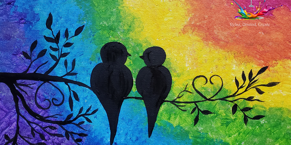 Hogs Breath Aspley - Rainbow Lovebirds