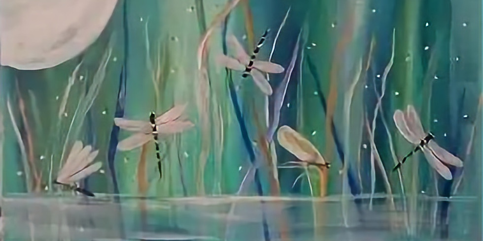 Playful Dragonfly's
