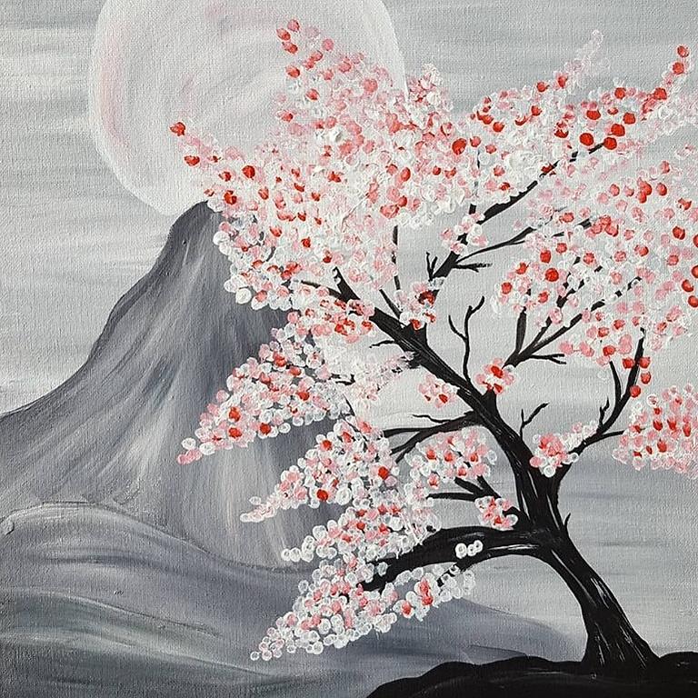 Scarborough 3eightnine cafe - Cherry Blossom Mountains