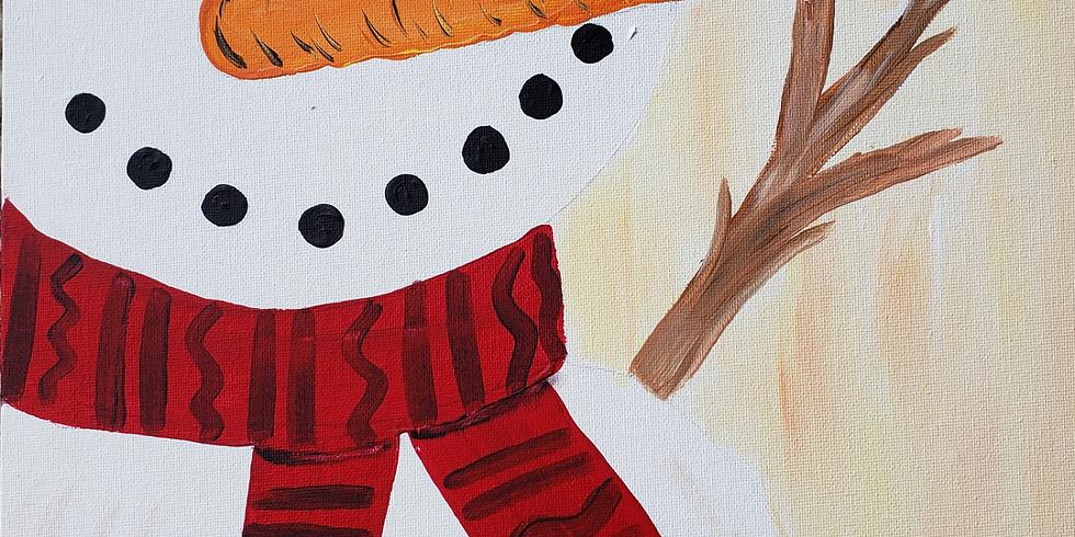 Scarborough 3eightnine cafe - Happy Snowman