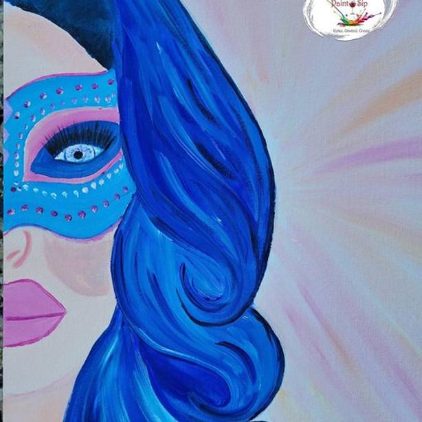 Scarborough 3eightnine cafe - Masked Lady
