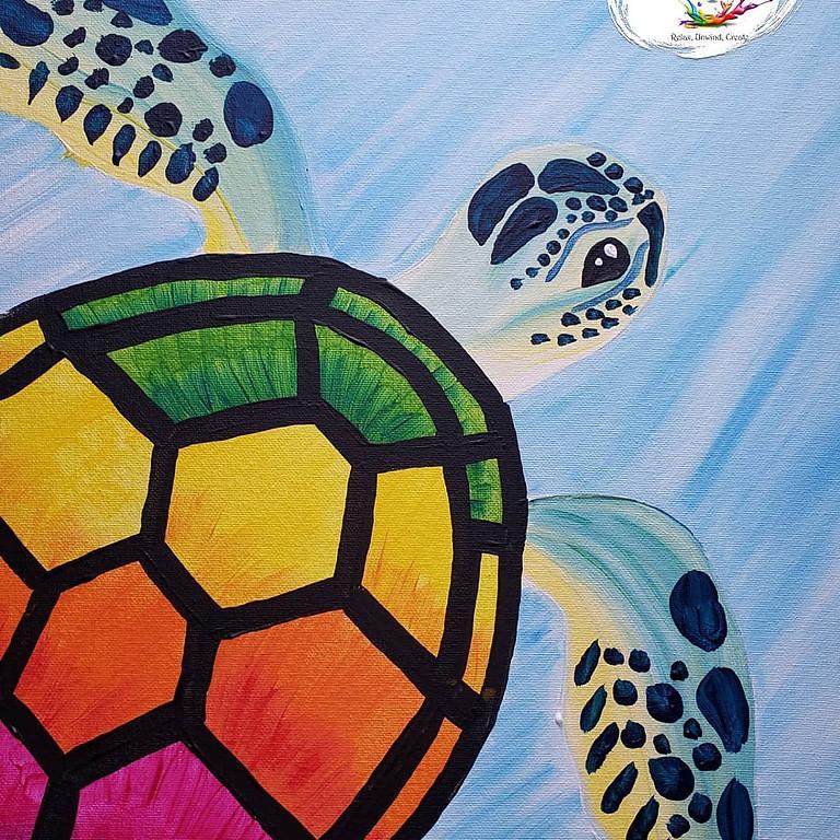 Scarborough 3eightnine cafe - Sea Turtle