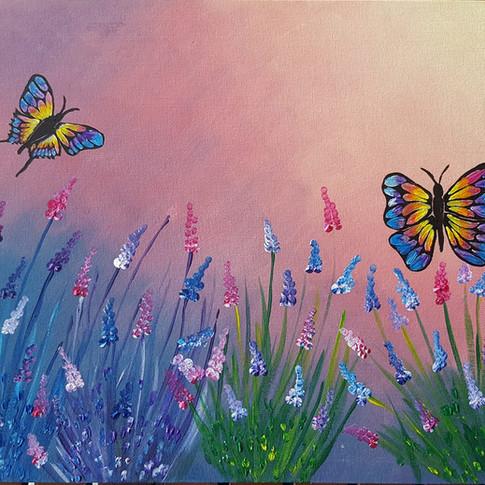 Peaceful Palette Paint & Sip