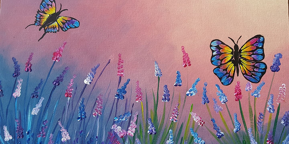 Petrie Hotel - Lavender Butterflies