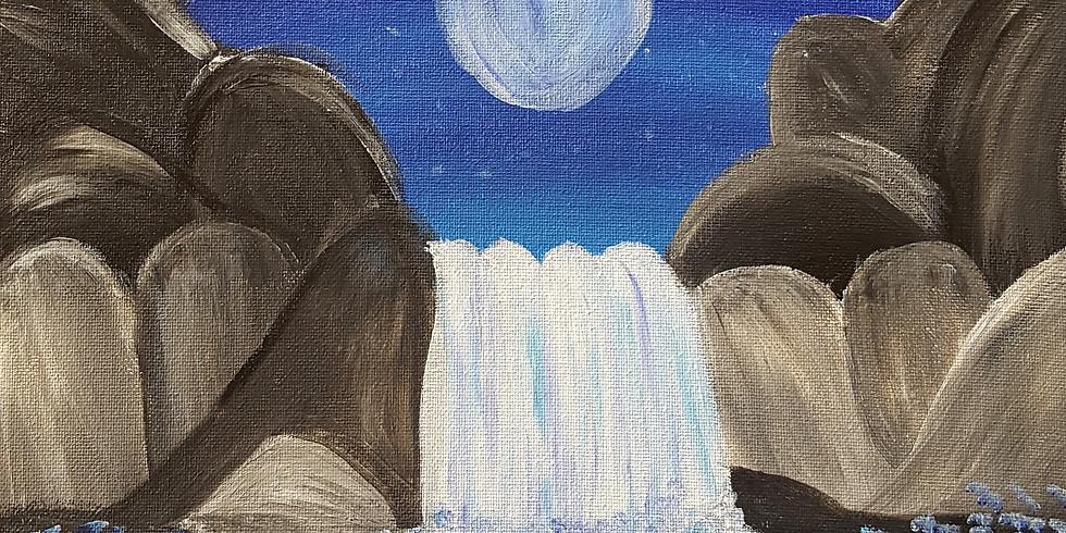 Scarborough 3eightnine cafe - Moonlight Waterfall