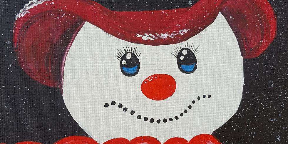 Pivet Cafe - Snowman