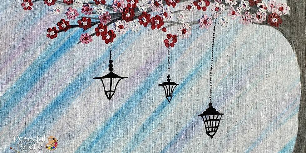Scarborough 3eightnine cafe - Cherry Blossom Lanterns